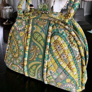 Vera Bradley Large snap coin style shoulder bag